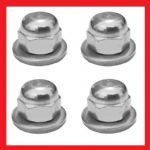 A2 Shock Absorber Dome Nut + Thick Washer Kit - Suzuki T350